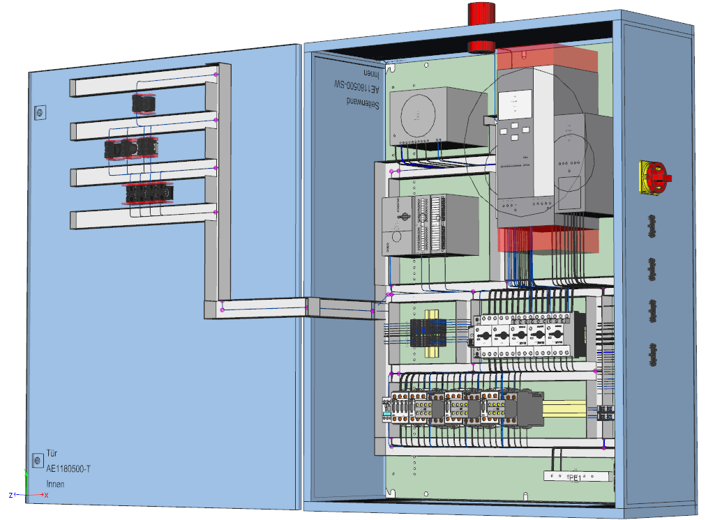 Exhibition Stand Software : Cadcabel ag systems provider for control cabinet wiring